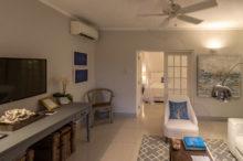 Wohnzimmer der Deluxe Suite im Calabash