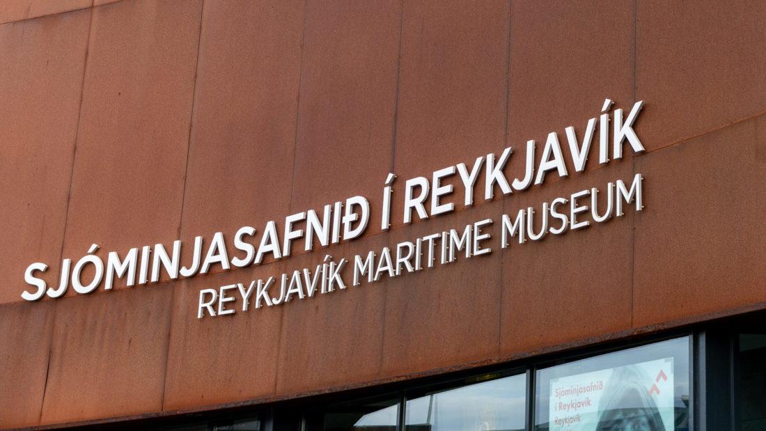 Hier wollte ich rein, hatte aber schon geschlossen: Das Schifffahrtsmuseum von Reykjavik