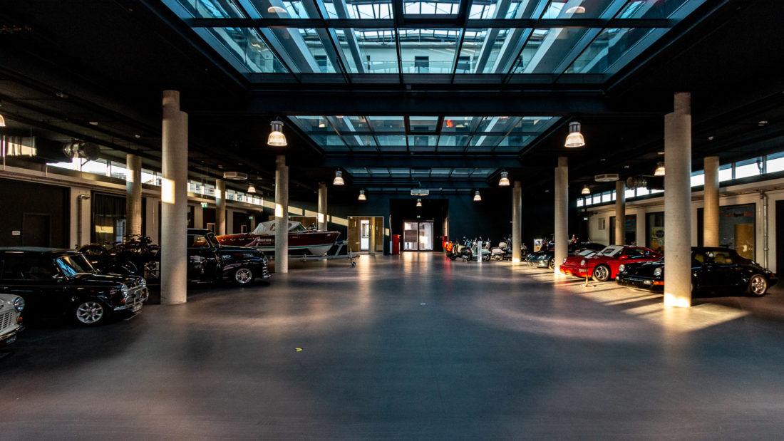 Das Erdgeschoss des V8-Hotel Köln