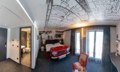 """Das """"italienische"""" Themen-Zimmer im V8-Hotel Köln"""