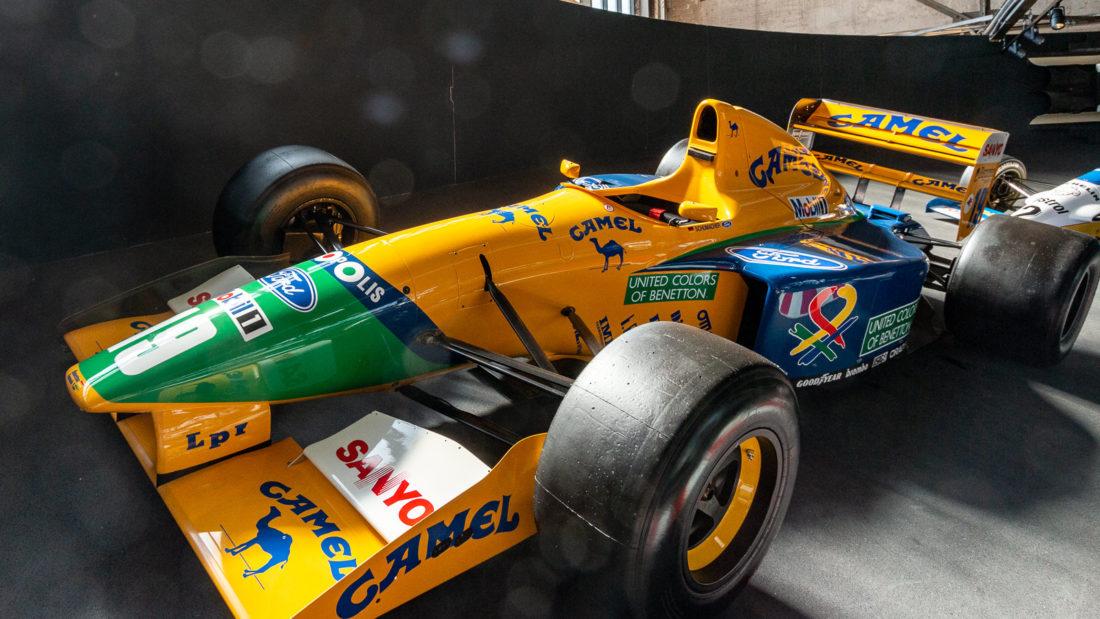 Einer der Rennwagen aus der Privatsammlung von Michael Schumacher
