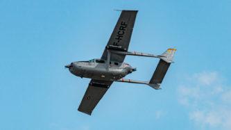 """Cessna 337 """"Super Skymaster"""" auf der Air Legend 2019 in Melun-Villaroche"""