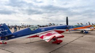 Extra 330 und 300L auf der Air Legend 2019 in Melun-Villaroche