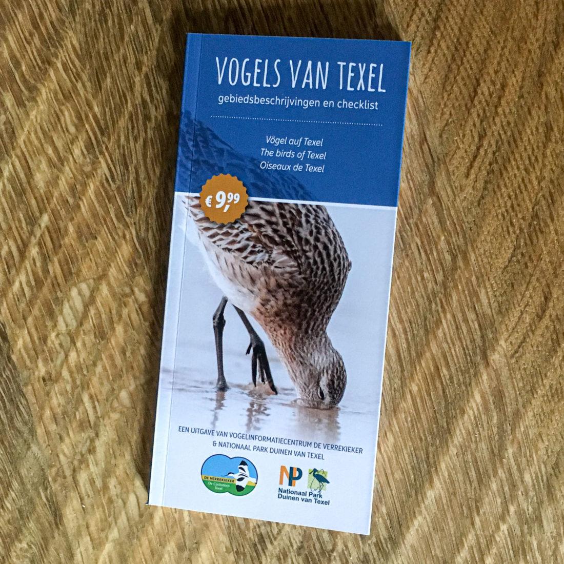 """Der Führer """"Vögel auf Texel"""" hilft unter anderem bei der Bestimmung der Vogelarten"""