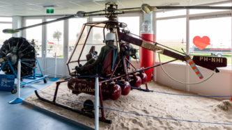 Hubschrauber NHI H-3 Kolibrie mit Blattspitzenantrieb
