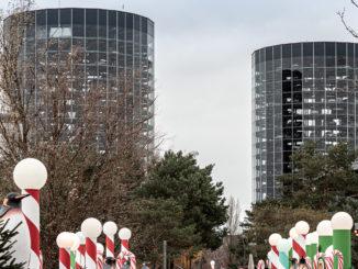 Autotürme in der Autostadt Wolfsburg