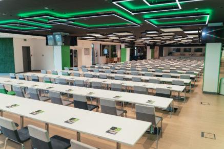 Die Business-Ebene der Volkswagen Arena; Foto: VfL Wolfsburg / Volkswagen Arena