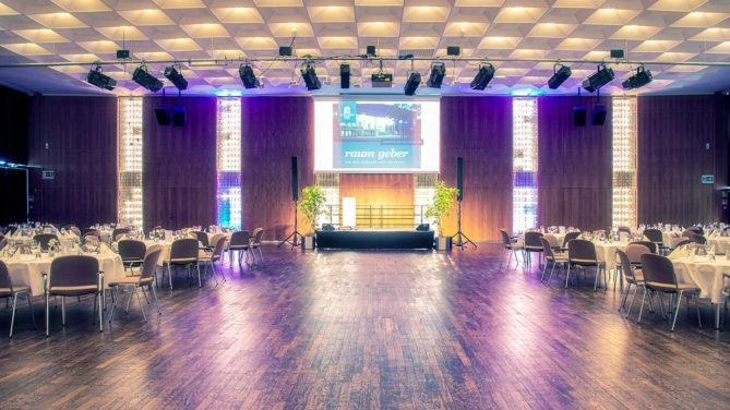 Spiegelsaal im Congresspark Wolfsburg; Foto: Helmut Krein