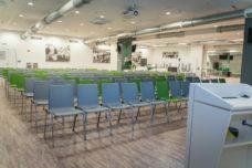 Das Eventcenter der Volkswagen Arena in Kinobestuhlung; Foto: VfL Wolfsburg / Volkswagen Arena